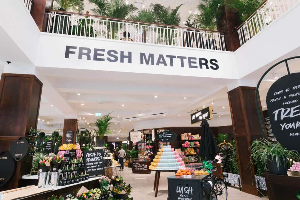 Lush reopens shops and Lush Spa locations in England and Wales...