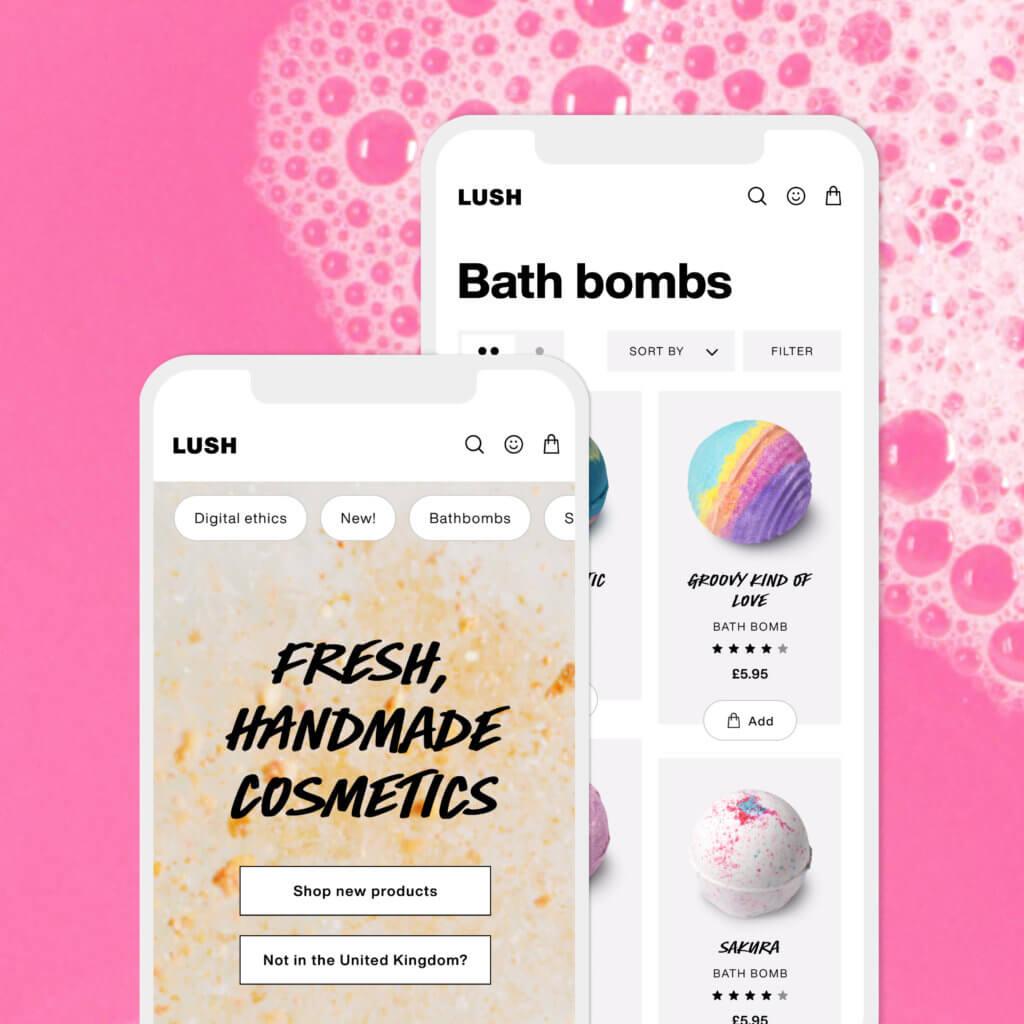 Lush lanserar en ny digital look